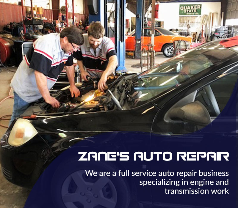 Auto repair,Slider image for Zane's Auto Repair services in Clinton, Oklahoma